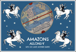 AMAZONS ALLONS-Y