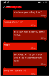 scalpers are the worst