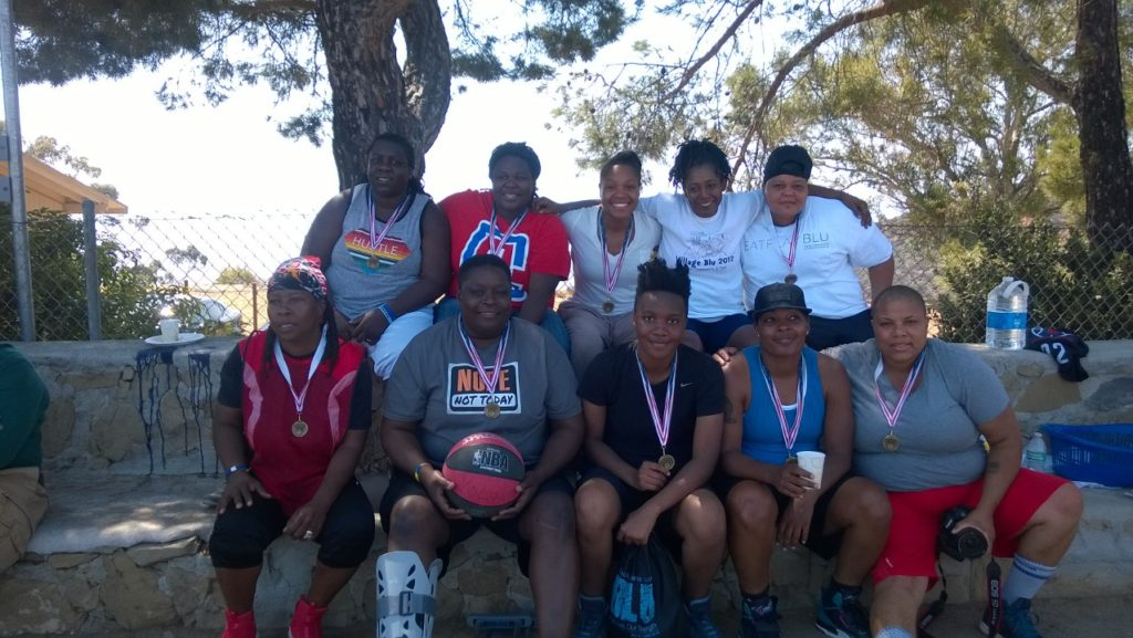 BLU basketball medals
